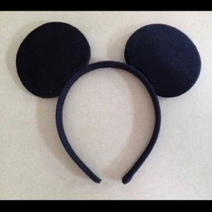 Mickey ears single (1 pc) plain